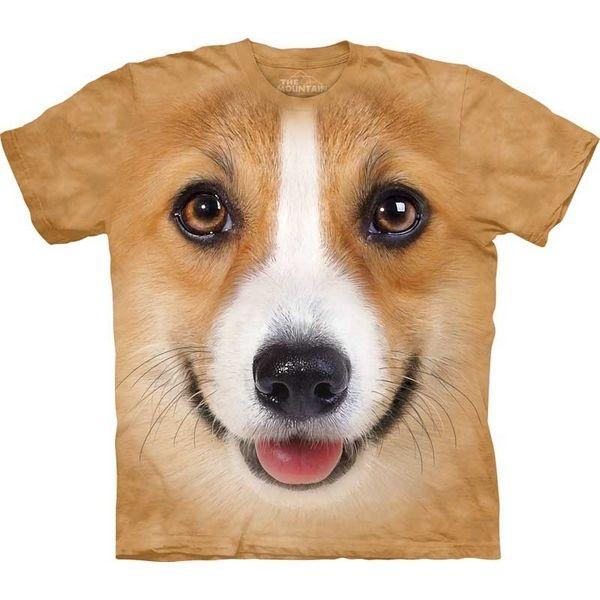 The Mountain Dog T-shirt | Corgi Face