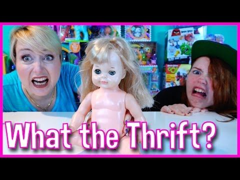 WHAT THE THRIFT? EP 7 SECOND HAND SHOP CHALLENGE MOMMY VS. GRACIE - YouTube