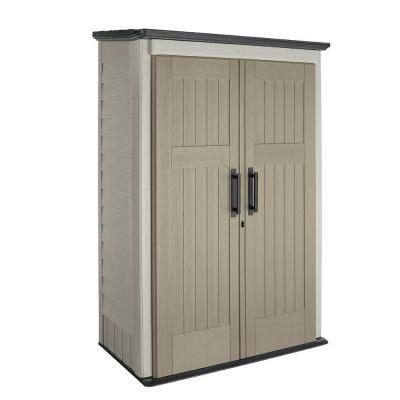 Rubbermaid 3 ft. x 4 ft. Large Vertical Storage Shed  $299.99 home