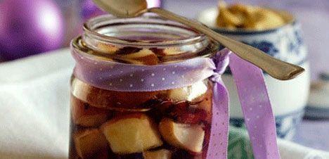 Æble-tranebærkompot