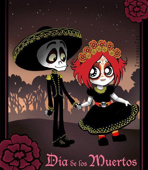 Dia de los Muertos: Ruby Gloom by *ZetsubouZed on deviantART  zetsubouzed.deviantart.com  www.rubygloomtv.com/