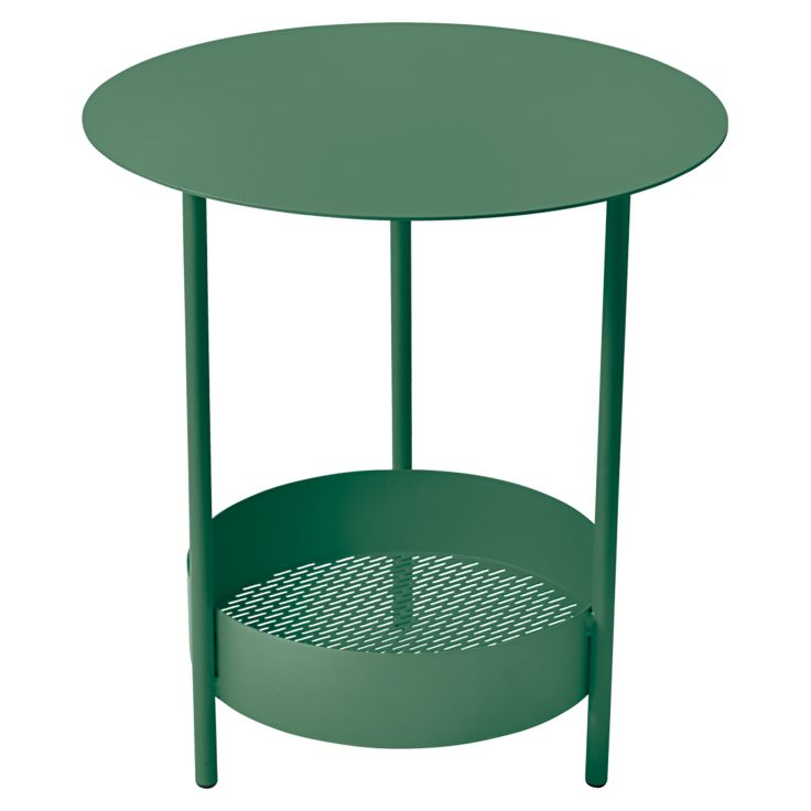 Salsa pedestal table, metal small table