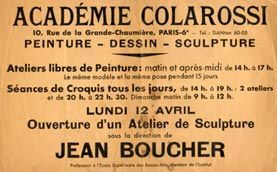 L'Académie Colarossi - Chez Edmea