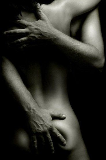 Erotic embrace...
