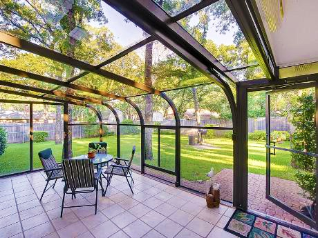 Love This Sunroom! What An Amazing View! (2917 Canyon Drive, Grapevine,