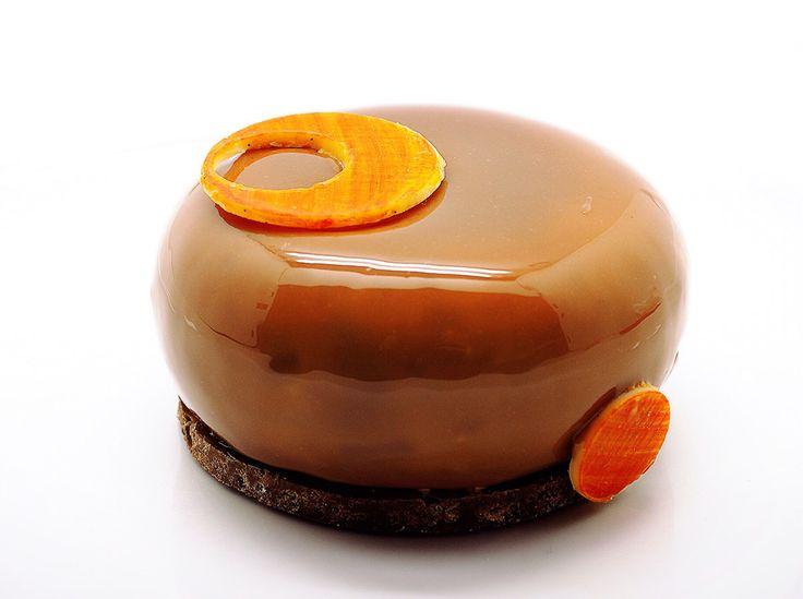 Association originale entre le marron et le fruit de la passion, découvrez ma recette pour réaliser chez vous ces petits entremets!