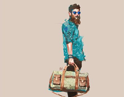 """Check out new work on my @Behance portfolio: """"fashion illustration - TRAVEL"""" http://be.net/gallery/32504615/fashion-illustration-TRAVEL"""