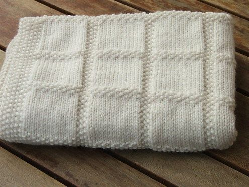 Natural Star--Brenda Green--Baby's First Blanket