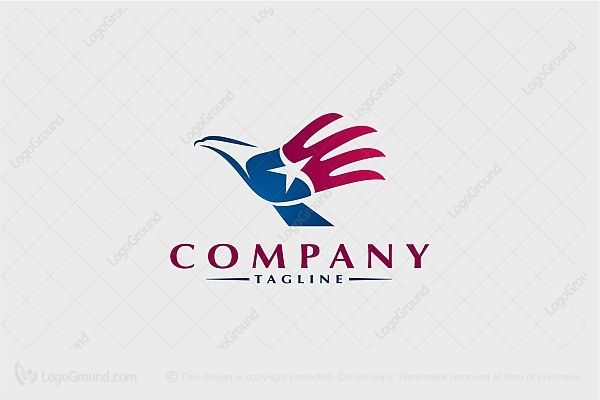 Logo for sale: Eagle Hand Logo