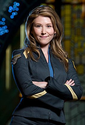 Jewel Staite as Dr. Jennifer Keller | Stargate Atlantis will be at Adelaide Oz Comic Con.  Find out more - www.ozcomiccon.com