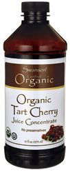Organic Tart Cherry Juice Concentrate - 16 fl oz Liquid - Swanson Health Products. Keeps you young and healthy, and helps one sleep.SLEEP.