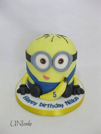 C226. Minion-kakku. Minion cake