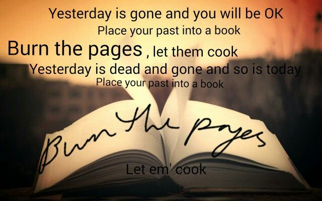 Burn The Pages--Sia