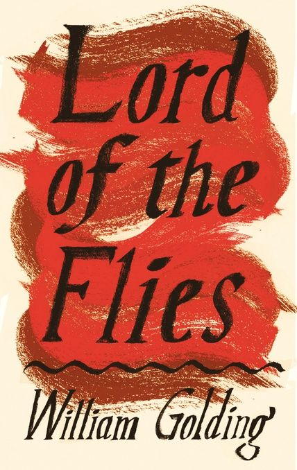 Lord of the Flies by William Golding. A plane crashes on an uninhabited island and the only survivors, a group of schoolboys. They inhabit a land of bright fantastic birds and dark blue seas, but their sense of order fades, and their childish fears are transformed into something deeper and more primitive. Their games take on a horrible significance, and before long the well-behaved party of schoolboys has turned into a tribe of faceless, murderous savages.