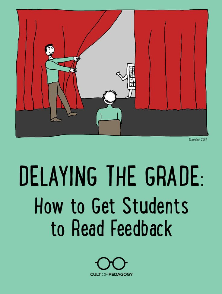 You spend hours marking and commenting on student work, and then they don't even read your feedback. The solution is all in how you time it. | Cult of Pedagogy