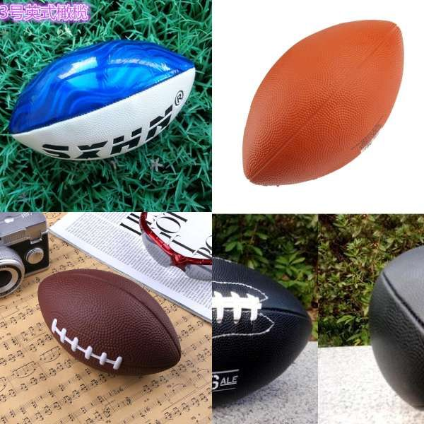Soft Rubber Af9 American Football No 9 Rugby Ball Dog Toy Ball