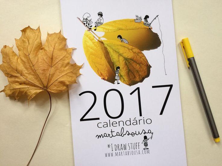 Calendário 2017 | MartaBSousa