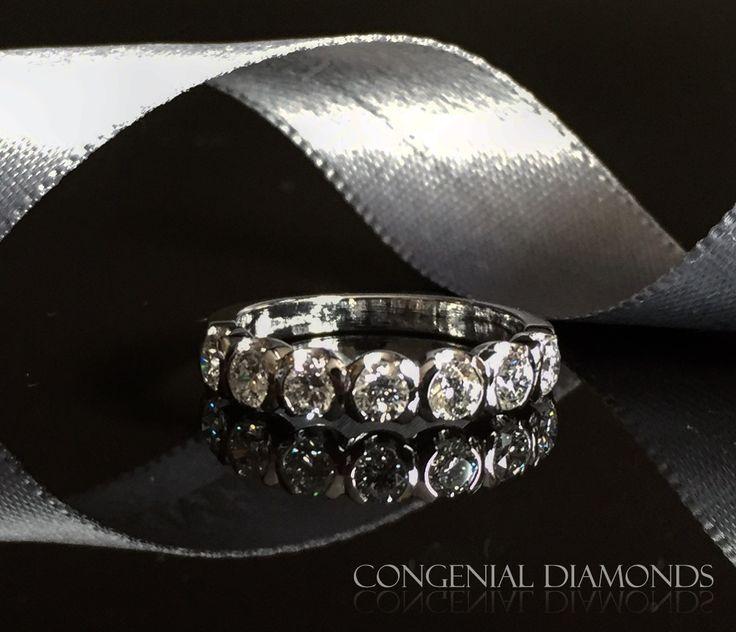 Fabulous diamond eternity ring