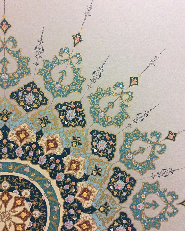 #تذهيب #muzehib #mywork #سنتي #artist #art #mozahip