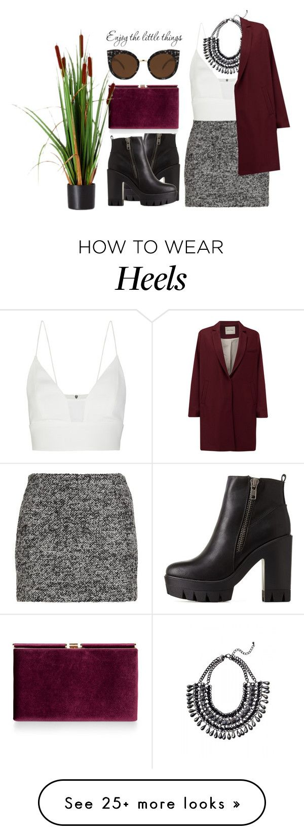 """""""#229"""" by vilte-m on Polyvore featuring moda, Charlotte Russe, Diane Von Furstenberg, Monsoon, Quay, Narciso Rodriguez y American Vintage"""