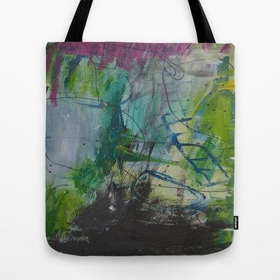 colors of the week - thursday Tote Bag by Helle Pollas - $22.00