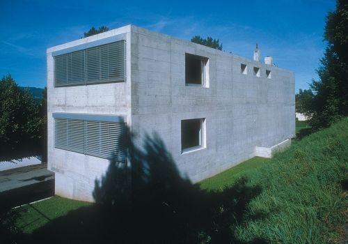 Architekt: Peter Maerkli Haus Hürzeler 1997
