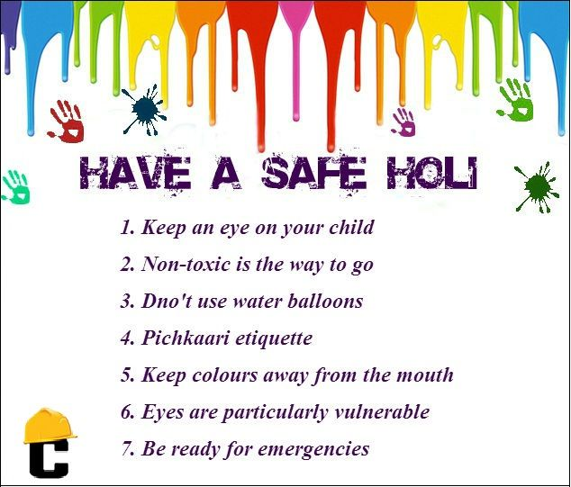 Celebrate a #safe and completely #natural Holi this year! #HappyHoli