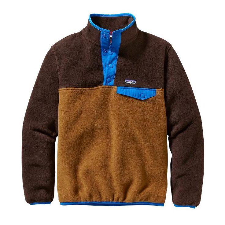Patagonia Boys' Lightweight Synchilla® Snap-T Fleece Pullover