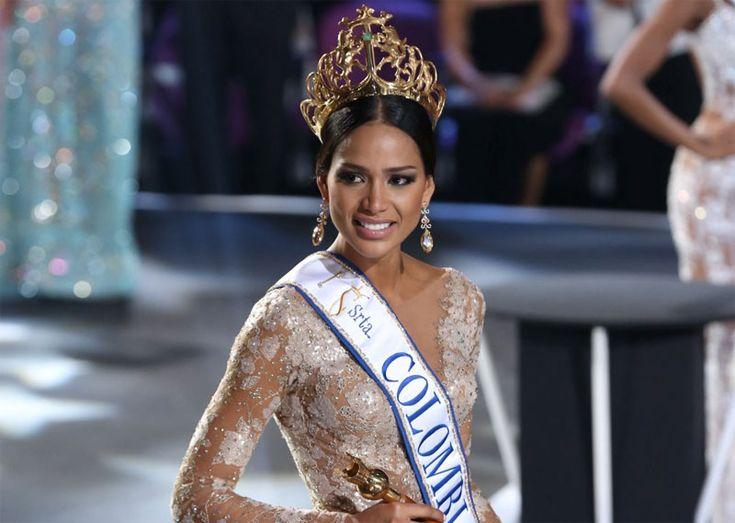 Señorita Colombia 2015 – 2016 is Miss Chocó, Andrea Tovar #missuniverse #missuniverse2016