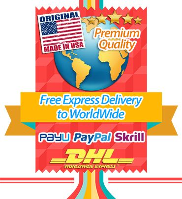 FREE EXPRESS DELIVERY TO WORLDWIDE via DHL within 1-3 days
