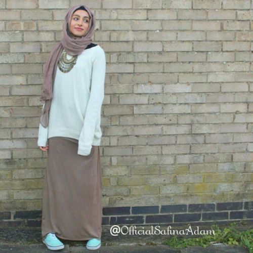 modest hijab style, New trends just for hijab http://www.justtrendygirls.com/new-trends-just-for-hijab/
