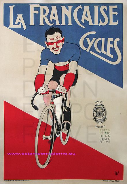 Mich Cycles La Francaise Marque Diamant 116X158 Wall | Flickr - Photo Sharing!