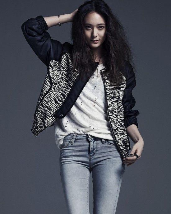 f(x) Krystal - Vogue Magazine April Issue '14