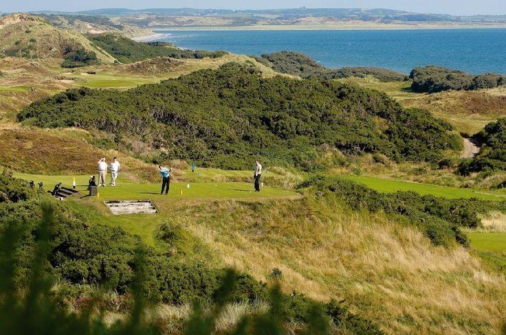 Club de Golf de Royal County Down, Links, Irlande du Nord