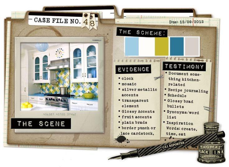 Case File No. 48 {Case closes on December 9, 2012} - CSI: Color, Stories, Inspiration