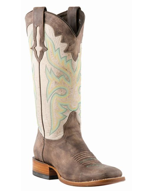 Lucchese Women's Sanded Café Burnished Horseman Cowgirl Boot http://www.countryoutfitter.com/products/31122