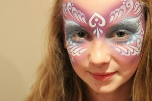 54 best images about 1 mask face paint on pinterest face for Airbrush tattoo paint