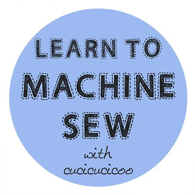 Learn to Machine Sew with Cucicucicoo: a free sewing course for beginners