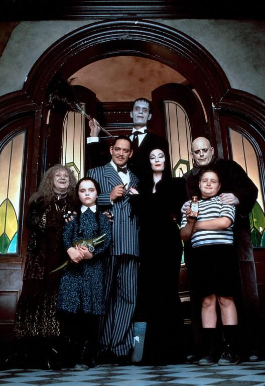 The Addams Family - big screen or small screen, they're still fun!