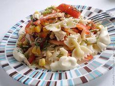 Салат с макаронами / Рецепты с фото