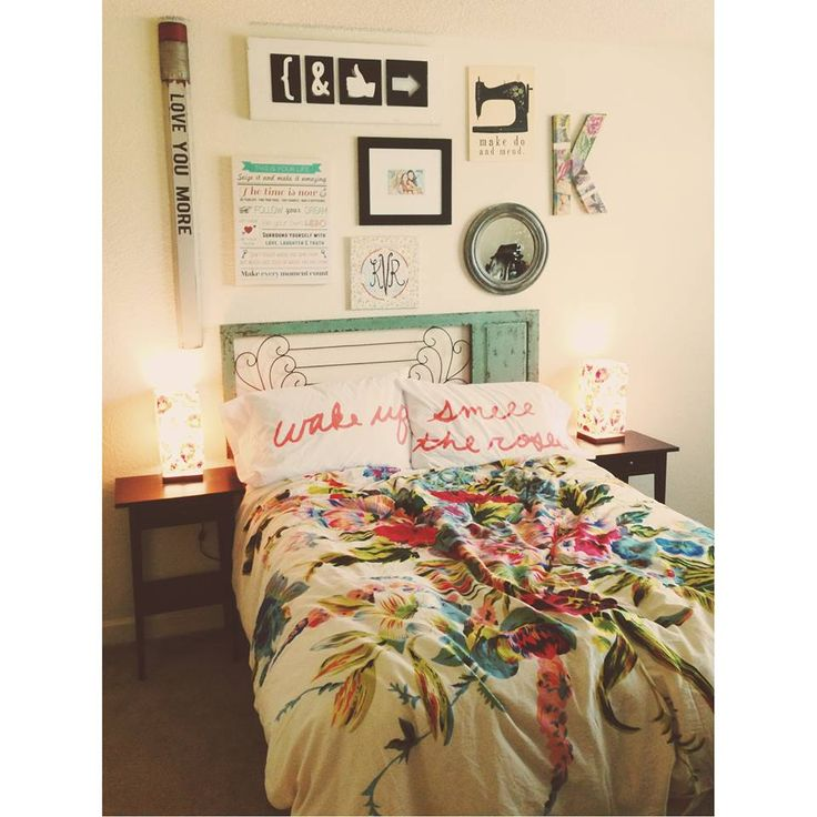 Colorful artistic bedding