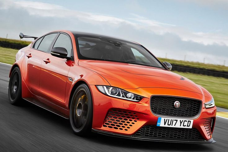 Jaguar Land Rover Special Vehicle Operations (SVO) has revealed the most powerful, agile and extreme performance road car ever - Jaguar XE SV Project 8