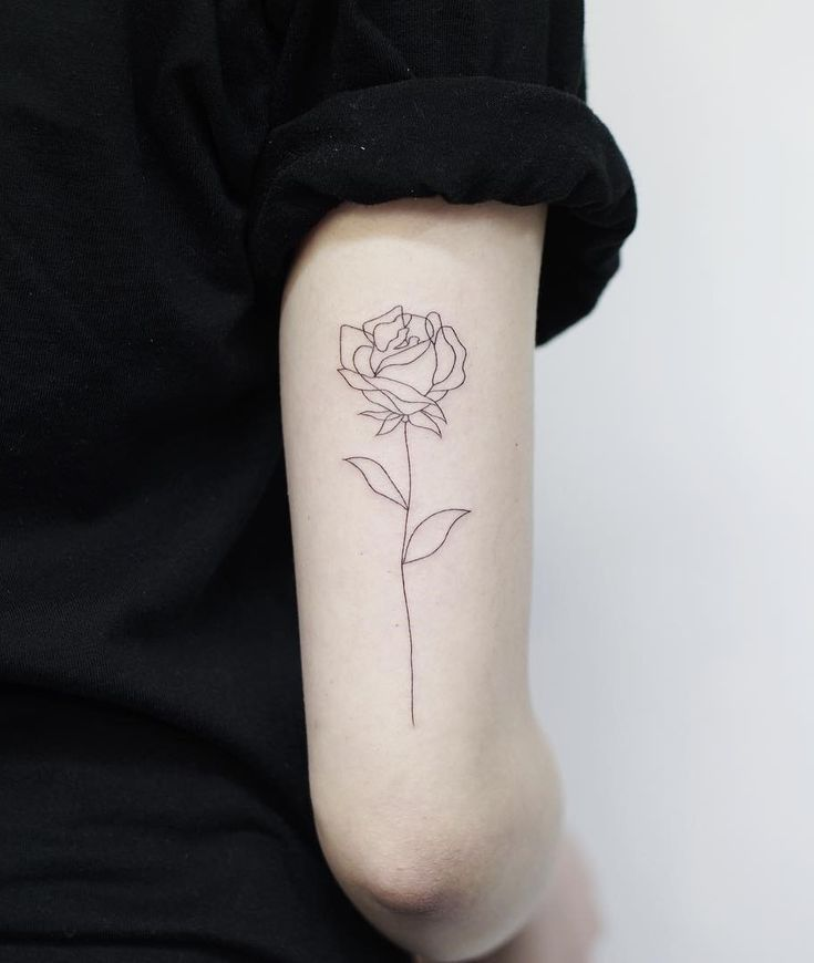 54 cute rose tattoos – worth a look – Ninja Cosmico