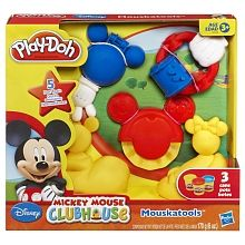 PLAY-DOH - Mickey Mouse Clubhouse Disney MOUSKATOOLS Set