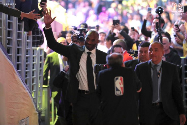 Watch Legendary LA Laker Kobe Bryant Get Both of His Numbers Retired at the Staples Center Source: Twitter Mamba out. Kobe Bryant's career has officially been immortalized. The legendary Los Angeles Laker retired both of his numbers, 8 and... http://drwong.live/hip-hop-community-news/kobe-bryant-numbers-retired-laker-html/