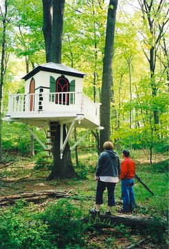 Eclectic Kids playhouse Design Ideas, Pictures, Remodel and Decor