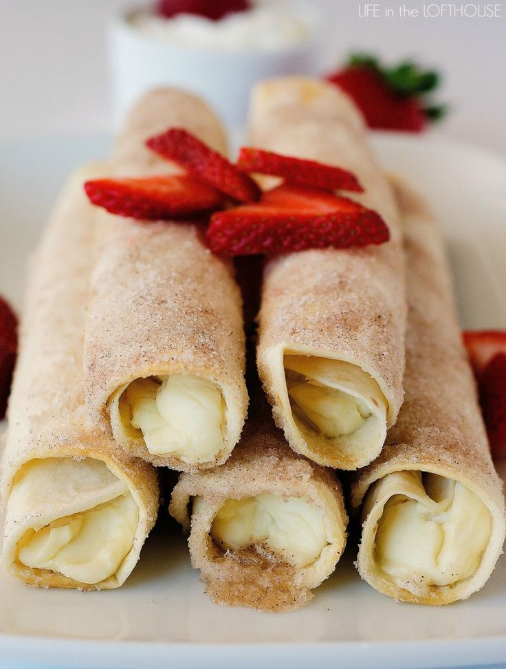Wrapping up Cinco de Mayo recipes week with dessert, of course! Let me introduce you to Cheesecake Taquitos. These fun dessert taquitos are utterly divine!    I debated on what dessert to share for Cinco de Mayo week when a little light bulb went off in my mind. I saw Cheesecake …