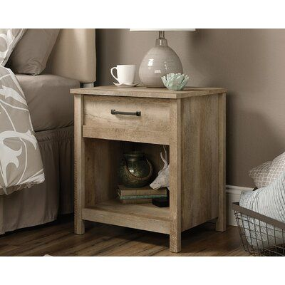 Foundry Select Canalou 1 Drawer Nightstand Wayfair Ca In 2020 Bedroom Night Stands Farmhouse Bedroom Furniture Rustic Nightstand
