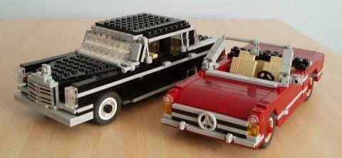 Lego Mercedes, LOL.