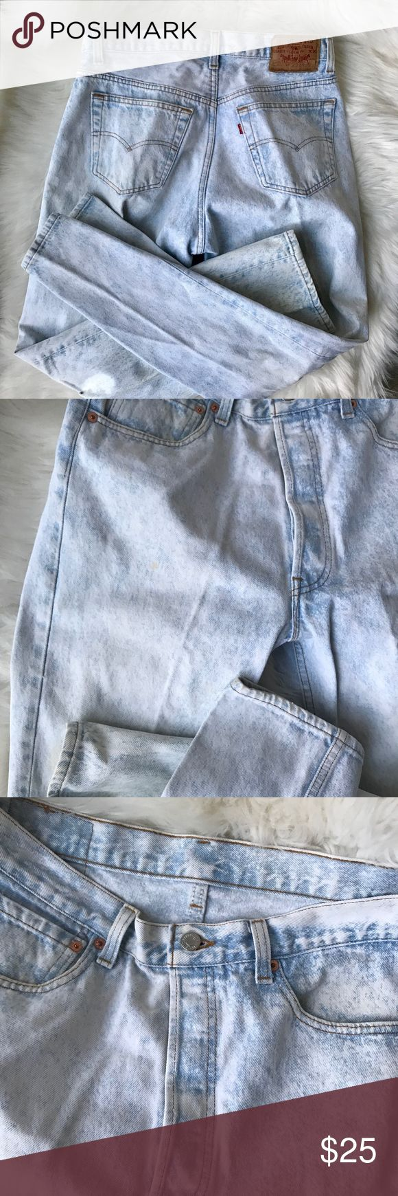 Levi Strauss Co High-Waisted Light Acid Wash Jeans Levi Strauss Co High-Waisted Light Acid Wash Skinny Jeans, Size 32x30 Made in the USA Great condition! No rips, stains or tears. Actual Measurements: Waist- 32 inches  Length- 41 inches Inseam- 30 inches Signature by Levi Strauss Jeans